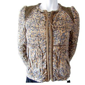 Wilfred Animal Print Quilted Jacket 0